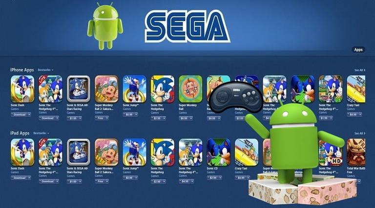 Игры сега на андроид