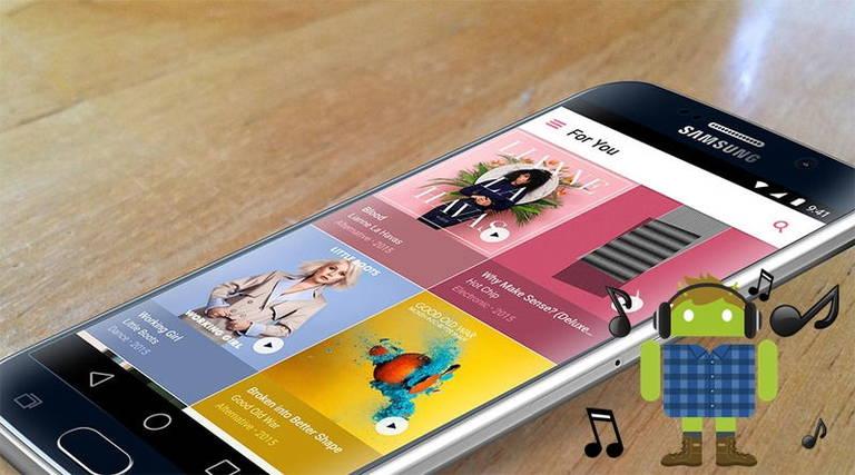 Музыкальные сервисы Андроид